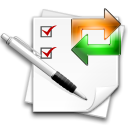 Recurring, stock, task WhiteSmoke icon