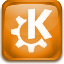 start, Kde, here Goldenrod icon
