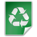 Application, recycle bin, Trash SeaGreen icon