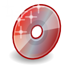 save, Disk, disc, Burner, Nautilus, Cd IndianRed icon