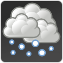 climate, weather, Snow DarkSlateGray icon