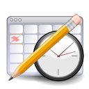 Planner, Gnome Gainsboro icon