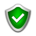 high, security Green icon