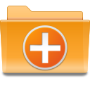 Folder, Kde, new Goldenrod icon
