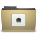 Folder, Remote, manilla DarkKhaki icon