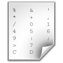 Ascii WhiteSmoke icon