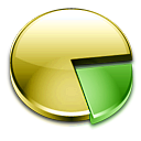 Gparted Khaki icon