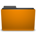 Orange, Folder DarkGoldenrod icon