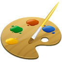 picker, gtk, Color SandyBrown icon