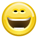 laugh, Face Khaki icon