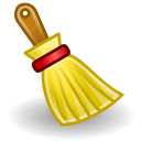 Clear, writing, sweep, Edit, Brush, write, Clean, broom DarkGoldenrod icon