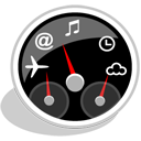 gdesklets Black icon