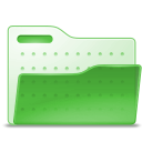 Human, open, Account, user, profile, people, Folder LimeGreen icon