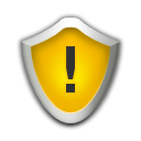 security, medium Orange icon