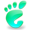 Gnome, Acquamarine, start, here Icon