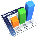 numbers, calculation, Calc, old, Excel, calculator, Openofficeorg DarkGray icon