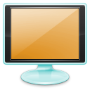Setting, Desktop, Display, Configure, option, monitor, Computer, config, screen, preference, configuration SandyBrown icon