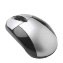 Mouse, Gnome Black icon