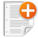 new, document, File, create, paper WhiteSmoke icon