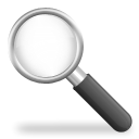 Find, seek, search, system Black icon