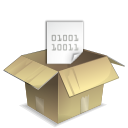 package, pack Tan icon