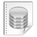 Oasis, Application, db, open document, Database WhiteSmoke icon