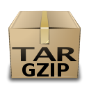 Application, Gnome, mime, Gzip Tan icon
