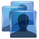 Human, people, system, user, Account, profile MidnightBlue icon