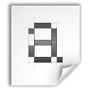 Application, pcf, Font WhiteSmoke icon