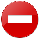 Dialog, exclamation, wrong, Error, warning, Alert Red icon