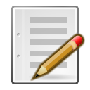 Edit, gtk, write, writing Gainsboro icon