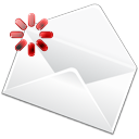Email, mail, stock, Letter, Message, Compose, envelop WhiteSmoke icon