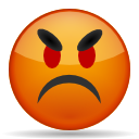 Face, Angry Chocolate icon