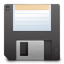 save, Floppy, media DarkSlateGray icon