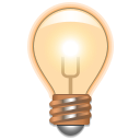 hint, Info, Dialog, about, Energy, light, Idea, tip, Information Black icon