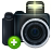 Camera, photography, Add, plus DarkSlateGray icon