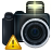 Camera, photography, exclamation, warning, Error, Alert, wrong DarkSlateGray icon