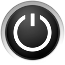 shutdown, Black, on off, off, standby DarkSlateGray icon