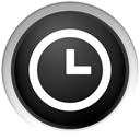 history, Black, time DarkSlateGray icon
