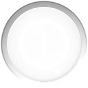 Bubble, turn off, Power off, shutdown WhiteSmoke icon