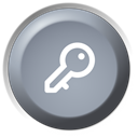 log off, Remote DarkGray icon
