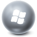 Bright, window, Ball Icon