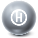 Ball, Bright, help DimGray icon