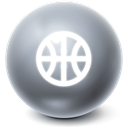 Game, gaming, Ball, Bright DimGray icon