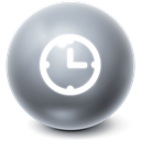 time, Ball, Bright, history DimGray icon