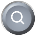 Find, Remote, search, seek DarkGray icon