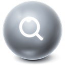 seek, Find, Bright, search, Ball DimGray icon