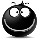 Emotion, Face, Emoticon Black icon