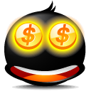 Face, Emotion, Emoticon Black icon