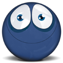 Face, Emoticon, Emotion DarkSlateBlue icon
